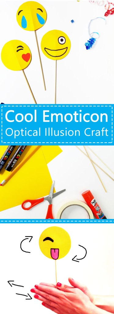 Emoji-Optical-Illusion-DIY-craft