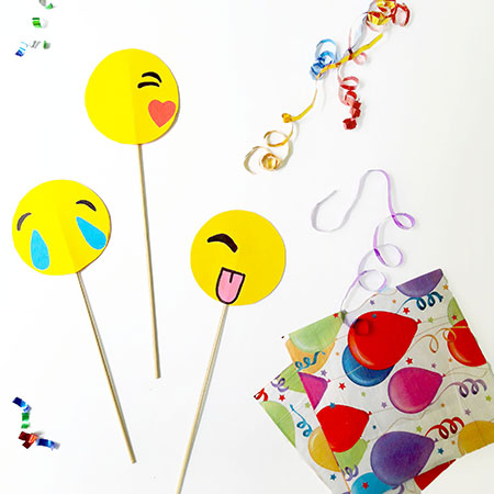 Emoji-Optical-Illusion-DIY-Party-Favour