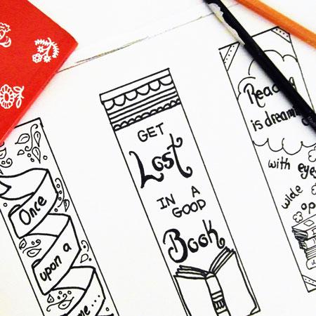 Bookmark Making Workshop for World Book Day