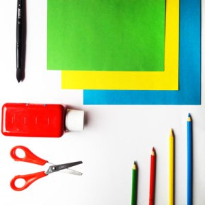 Essential Art and craft supplies for kids. What materials you need at home