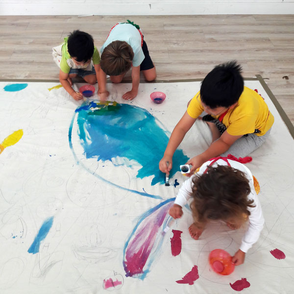 Childrens Group Art Projects